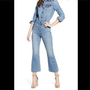 NWT DEADSTOCK Levi's Kick Flair Jumpsuit Coverall